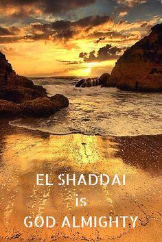 EL SHADDAI is GOD ALMIGHTY