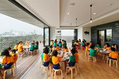 Gallery of Hanazono Kindergarten and Nursery / HIBINOSEKKEI + Youji no Shiro - 21