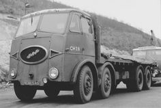 An ERF 'KV' (I think) 4 axle with British Road Services. Antique Trucks, Vintage Trucks, Old Lorries, Road Transport, British Rail, Busse, Commercial Vehicle, Classic Trucks, Big Trucks