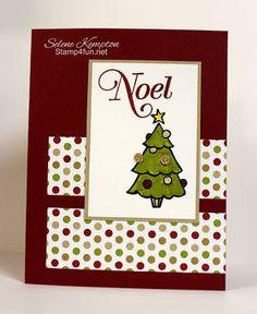 Stamp 4 fun with Selene Kempton: 12/5 Stampin Up! Season of Style, Color Me Christmas, and Greetings of the Season