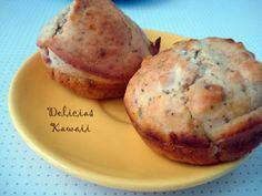 Muffins de jamón cocido y queso