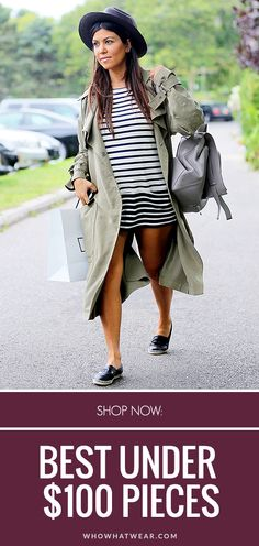 Shop the pieces your favorite celebs are wearing, all for under $100. // #Shopping
