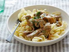 Classic, Comforting Beef Stroganoff Can't wait to use my canned beef for this recipe! Yes, canned beef from Shoemaker cattle :)