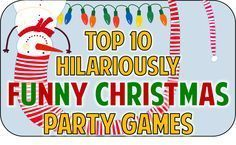 Hilarious Christmas party game ideas to add some fun and festivity to your holiday bash! More Hilarious Christmas party game ideas to add some fun and festivity to your holiday bash! Funny Christmas Party Games, Xmas Games, Holiday Games, Christmas Activities, Holiday Parties, Holiday Fun, Fun Games, Office Holiday Party Games, Holiday Ideas