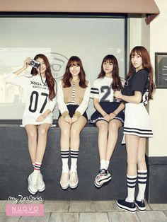 Sowon, Yerin, Umji and Yuju
