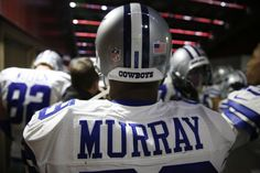 DeMarco Murray removes all references to Dallas Cowboys from his Twitter account...this doesn't sound good....