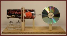 A stirling engine is a type of machine that is similar to a steam engine, only that it doesn't use