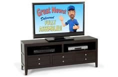 TV console for the living room?
