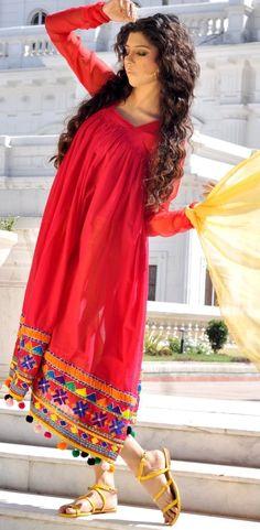 Arfa's Summer Arivals 2013 Women Fashion Collection Love this dress Ax Ethnic Fashion, Indian Fashion, Boho Fashion, Fashion Dresses, Womens Fashion, Pakistani Dresses, Indian Dresses, Indian Outfits, Casual Wear