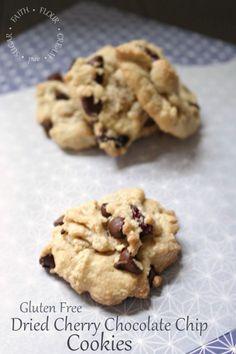 Gluten Free Dried Cherry Chocolate Chip Cookie