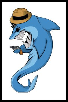 Sharktocable by igeking.deviantart.com on @DeviantArt