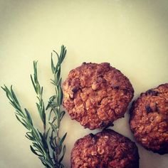 Rosemary and apricot oatmeal cookies | jibuyabu