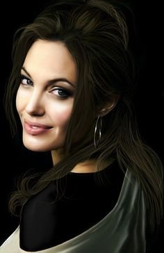 :. Angelina jolie .: by Maggy-P on DeviantArt