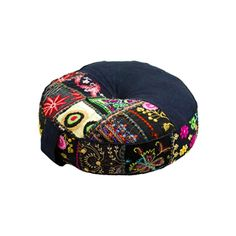 For those with a more relaxed, boho-inspired lifestyle, this black cushion will soon be your favorite companion. With hand-stitched fabric and a durable side handle for easy carrying, it's perfect for ...  Find the Harmonious Balance Cushion in Black, as seen in the The Silk Route Collection at http://dotandbo.com/collections/the-silk-route?utm_source=pinterest&utm_medium=organic&db_sku=MDC0005-blk
