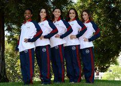 U.S woman's gymnastic team.