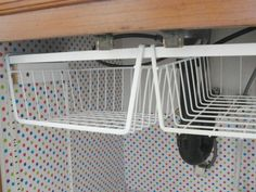 Rv Camper Hacks Kitchen Storage Solutions 9 image is part of Best Hacks Storage Solutions for RV Camper Kitchen gallery, you can read and see another amazing image Best Hacks Storage Solutions for RV Camper Kitchen on website Under Cabinet Storage, Kitchen Cabinet Organization, New Kitchen Cabinets, Storage Cabinets, Organization Ideas, Cabinet Ideas, Bathroom Storage, Under Sink Organization Bathroom, Under Kitchen Sinks