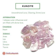 Chakra Crystals, Crystals And Gemstones, Stones And Crystals, Crystal Healing Chart, Aries And Leo, Spiritual Wellness, Love Affirmations, Crystal Meanings, Crystal Collection
