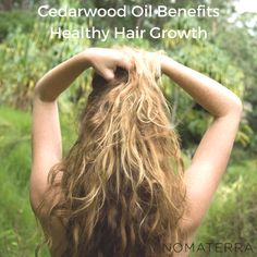 Applying cedarwood oil to the scalp is shown to increase blood circulation in the area, which in turn can stimulate the follicles and improve hair strength.