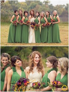 gorgeous fall wedding theme  Halston Randy Coleman Oklahoma Wedding