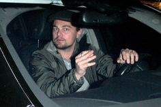 Leonardo DiCaprio - Leonardo DiCaprio Smokes and Drives