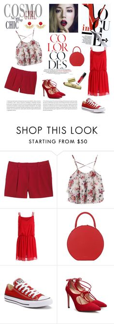 """""""Color inspiration"""" by atlanticas ❤ liked on Polyvore featuring Canvas by Lands' End, Oris, Mansur Gavriel, Converse and Ottoman Hands"""