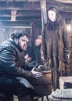 Game of thrones (season 6) published by Blixtnatt   Samwell and Gilly