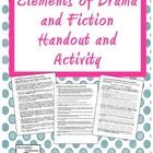 FREE! Elements of Drama and Fiction