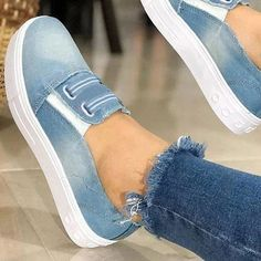 Black Friday Women's Elastic Band Flats Canvas Flat Heel Flats Canvas Rubber Women's Elastic Band Blue Gray Spring Summer Fall Back To School PU Flat Heel 1 inch Flats Flats 36 37 38 39 40 41 42 43 Shoes Zapatillas Slip On, Wedge Sneakers, Slip On Shoes, Flat Shoes, Women's Shoes, Fashion Shoes, Women's Fashion, Fashion Women, Womens Flats