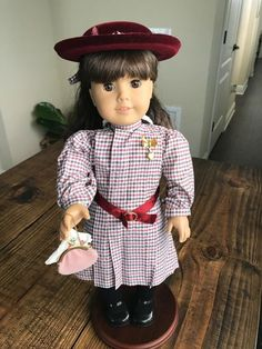 "NICKI/'S COWBOY HAT~Straw~Authentic 18/"" American Girl Doll~Accessories~Retired"