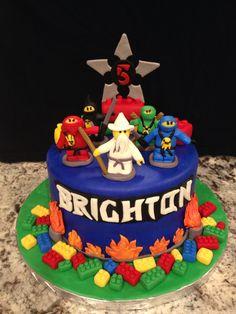 #legocake #ninjago #birthdaycakes
