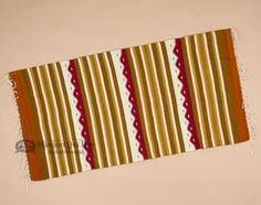Southwestern Zapotec Indian Rug 30x60 (70)