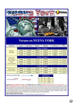 NUEVA YORK. Estancias verano en Nueva York, Salidas desde Madrid desde 1.139 € ultimo minuto - http://zocotours.com/nueva-york-estancias-verano-en-nueva-york-salidas-desde-madrid-desde-1-139-e-ultimo-minuto/