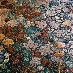 Mosaic Leaf Pattern