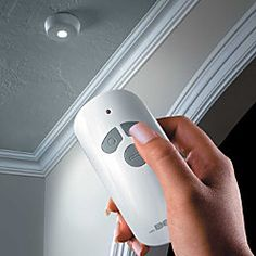 Captivating Mr. Beams Has Developed A Remote Controlled LED Ceiling Light That Can Be  Placed Virtually. Battery Operated ...