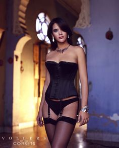 37f965f0a8d The Eye Candy  Corset in  BlackSatin by Vollers Corsets  LuxuryLingerie  Luxury Lingerie