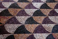 Roma, completata la prima parte del restauro del mosaico alle Terme di Caracalla