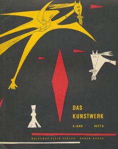 Das Kunstwerk - Cover - 8. Jahrgang, Heft 6
