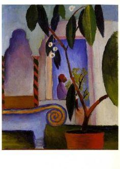 Arabic Café (1914)  by August Macke (1887-1914)    © Vontobel Kunstverlag