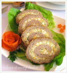 Rolada z mięsa mielonego z farszem jajecznym
