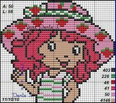 Strawberry Shortcake ... pattern ... stricken - häkeln / knitt - tapestry crochet