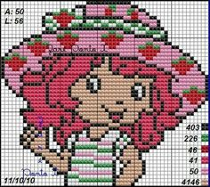 Strawberry Shortcake ... pattern ... stricken - häkeln / knitt - tapestry crochet