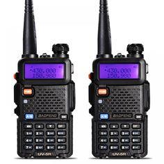 2Pcs BaoFeng UV-5R Walkie Talkie VHF/UHF136-174Mhz&400-520Mhz Dual Band Two way radio Baofeng uv 5r Portable Walkie talkie uv5r  Price: 78.00 & FREE Shipping  #tech #electronics #home #gadgets