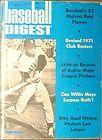 1971 Baseball Digest-San Francisco Giants Willie Mays