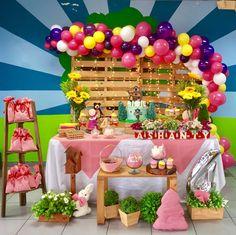 Masha and the Bear Birthday party ideas.