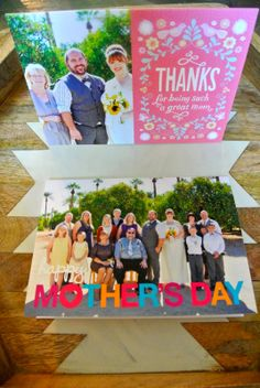 Love these cards made by Loose Shoelaces. Both photos work so well with the cards.