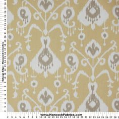 Browse Java Print on Barley Cotton Fabric. Shop our huge selection of thread and fabric, enjoy savings with sales and coupons! Hancock Fabrics, Wall Colors, Cotton Fabric, Home Improvement, Java, Sewing, Fabric Shop, Inspiration, Office Ideas