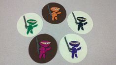 Five Little Ninjas flannel board--made me giggle. Really nice storytiming site.