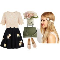 Нежность by tggalkina on Polyvore featuring косметика, ASOS, Fendi, River Island, Oasis and Pier 1 Imports