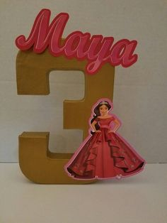 Check out this item in my Etsy shop https://www.etsy.com/listing/467602440/princess-elena-of-avelor-3d-number-stand