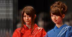 乃木坂46 (nogizaka46) Matsumura Sayuri (松村 沙友理) and Hashimoto Nanami (橋本 奈々未) during The Amazing Spiderman event ~ yes it's a few months ago ~ this two look so perfect together /)^O^(\ ~ perfect OTP ever ~ ♥ ♥ ♥ ♥ ♥ ♥ ♥ ♥ ♥